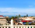 Вид с террасы гостиницы Абхазия