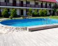 Бассейн в гостинице Абхазский дворик