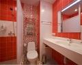 Ванная комната стандартного номера Коралл