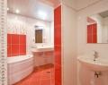 Ванная комната номера Suite Коралл