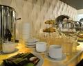 Шведский стол а ресторане Alex Beach Hotel