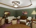 Холл гостиницы Райда