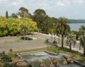 Вид из окон номеров отеля Рица