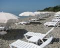 Пляж комплекса Камарит, Новый Афон