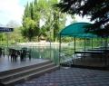 Озеро на территории парк-отеля Абжаха