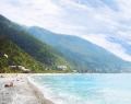 Пляж пансионата Колхида