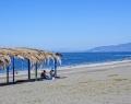 Пляж пансионата Кудры