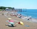 Пляж пансионата Литфонд