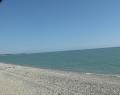 Пляж у базы отдыха Золотой берег
